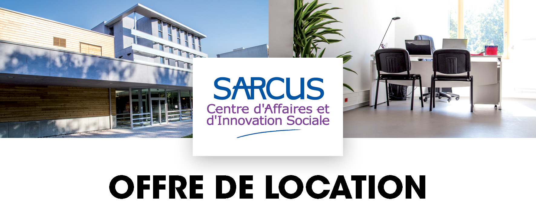 bureaux disponibles offre de location au sarcus sarcus le centre. Black Bedroom Furniture Sets. Home Design Ideas